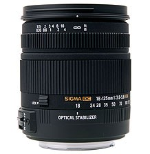 Sigma 18-125mm F3.8-5.6 DC OS HSM for Canon