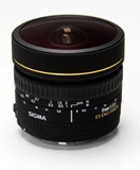 Sigma 8mm F3,5 Fish Eye Circulaire DG EX for Nikon