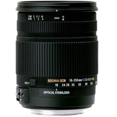 Sigma 18-250mm F3,5-6,3 DC OS Canon