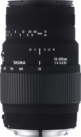 Sigma 70-300mm F4-5,6 DG Macro for Sony