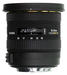 Sigma 10-20mm F3,5 EX DC HSM For Canon